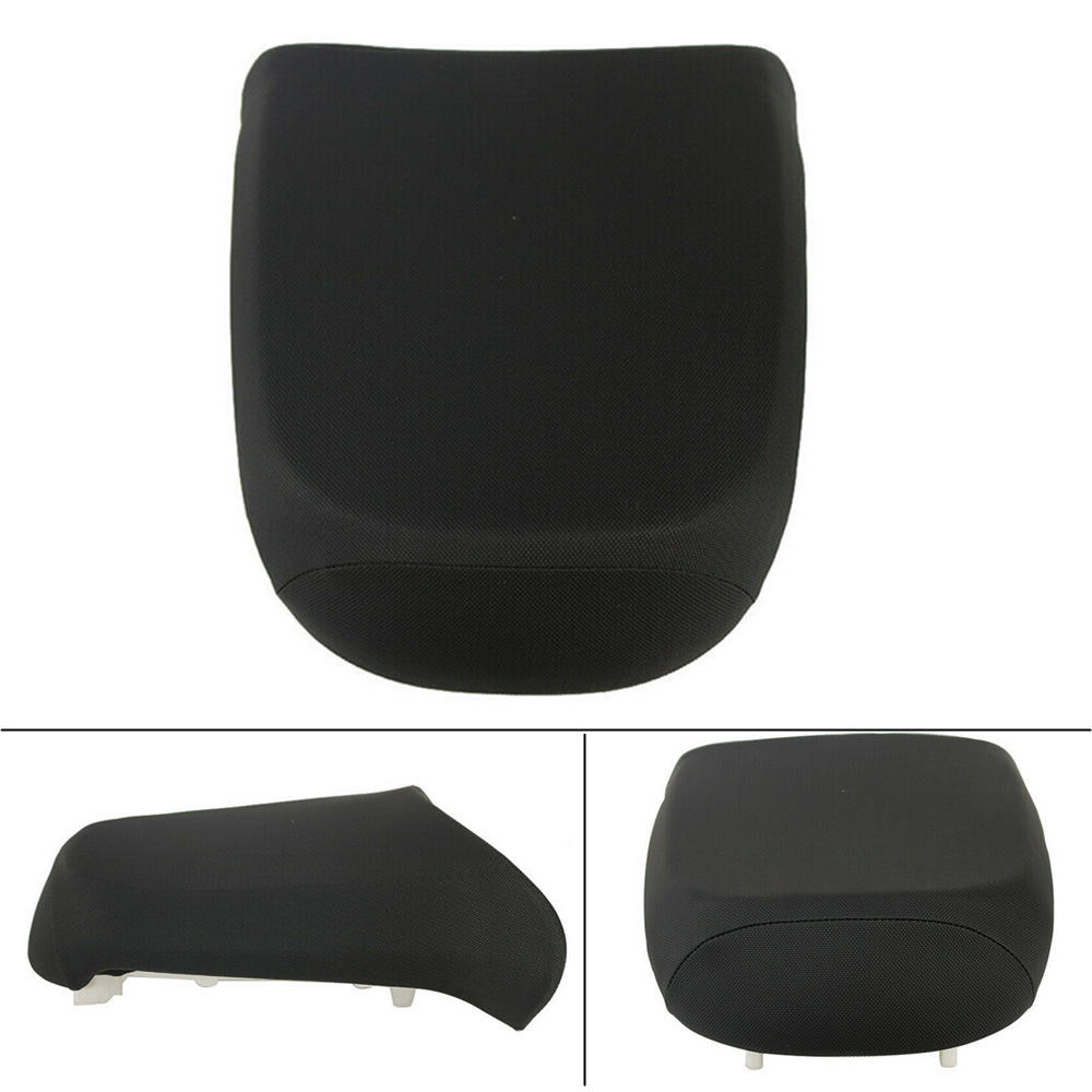 For BMW R1200GS 2005-2012 ADV Adventure Black Leather Motorcycle Rear Pillion Passenger Seat Cushion Pad