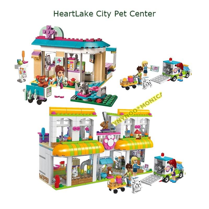 Hot 10537 amis Pet hôpital vétérinaire clinique blocs de construction ensembles briques à monter soi-même jouets éducatifs 41085 compatibles Les meilleur cadeau