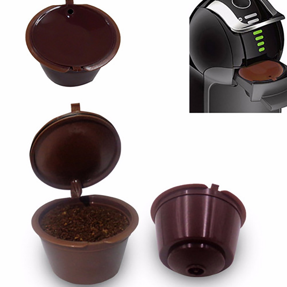 Premium Refillable Pod Cup Coffee Capsule 100% Foood Grade Stainless Steel Filter For Dolce Gusto 1pc