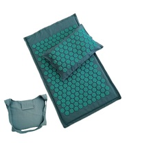 Lotus Spike Acupressure Mat Acupuncture Cushion with pillow Health Care