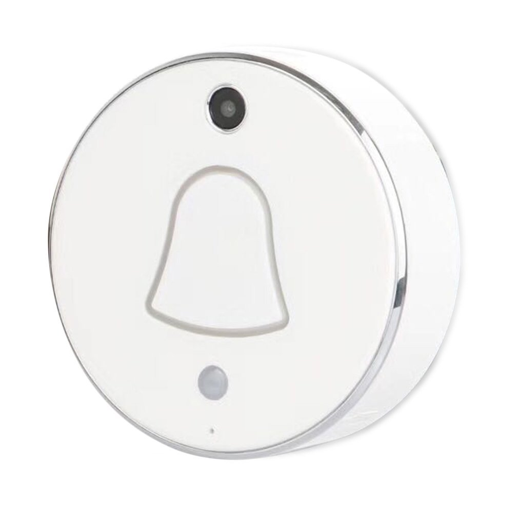 Smart Wireless WiFi Enabled Camera Door Phone Visible Doorbell 90 Degrees Wide Angle 480*320 Pixel Home Security