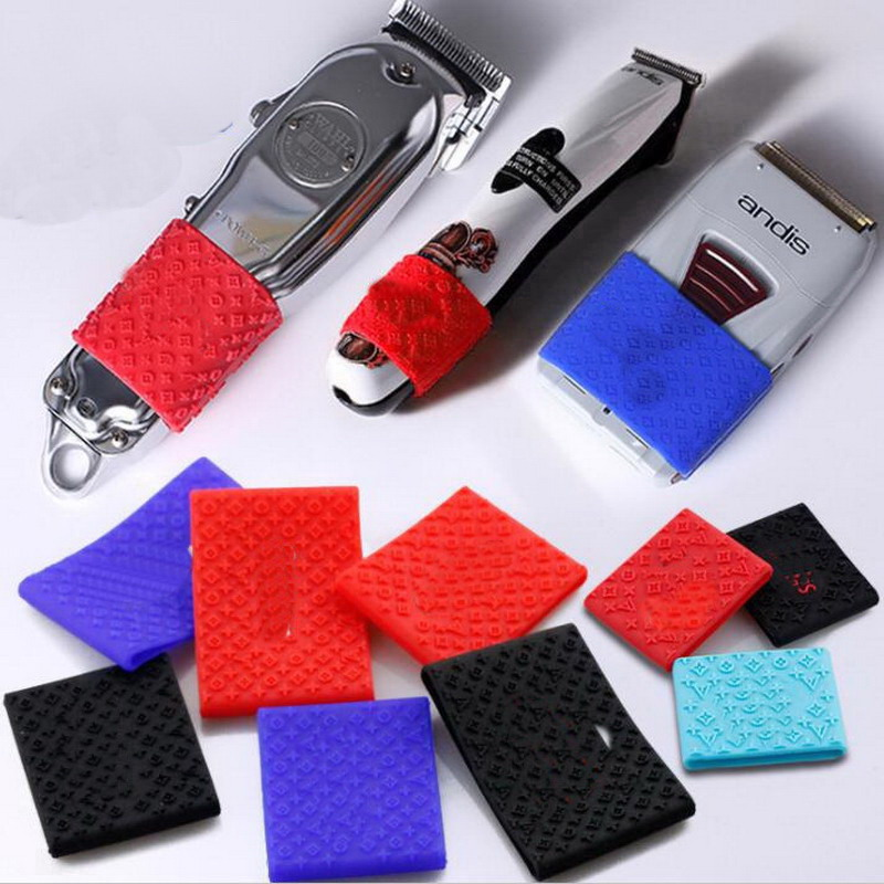 Trimmer grip New Barber Hair Clipper Grip Rubber Anti Slide Design Barber Grips Hairdressing silicone decorative rings