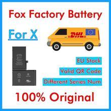 BMT oryginalny 10 sztuk Foxc fabryka baterii do iP X 2716mAh wymiana części naprawa