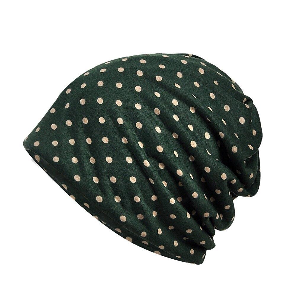 Wrap Stretch Arab Hat Muslim Cap Turban India Beanie Women Head Scarf Flower