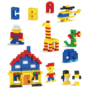 Image 5 - 250 1000 Pcs Colorful Building Blocks Bricks Kids Creative Block Toys Figures for Children Girls Boy Christmas Gifts
