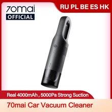 Protable 70mai Auto Staubsauger 70 MAI Handheld Auto Reiniger Mini Auto Drahtlose Reiniger Licht Gewicht für Coche und Home useage