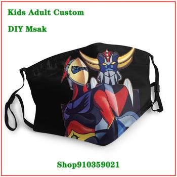 Fashion Dustproof Mouth Mask UFO Robot Grendizer Goldrake kids men women children face mask mascara protectora facial lavable