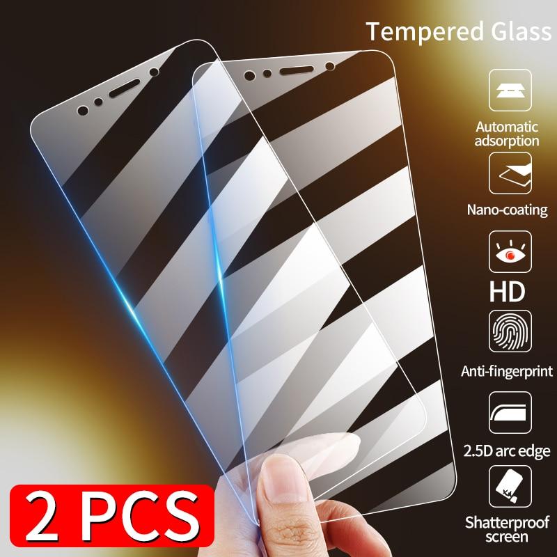 Temperli membran cam için Huawei onur 8X 8S 8C 8A 20i 10i 20 9X Pro 8 9 10 30 lite onur 9A X10 ekran koruyucu cam filmi