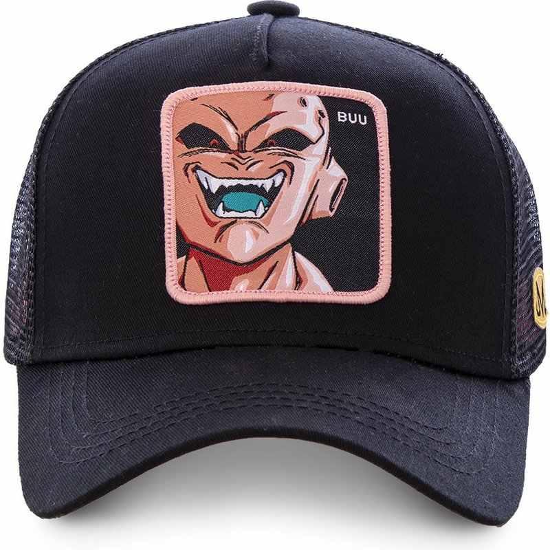 Dragon topu Z BUU beyzbol şapkası siyah panter Anime rakun çizgi roman GOKU Vegeta şoför şapkası file şapka baba şapka CAPSLAB Snapback