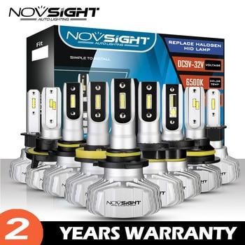 NOVSIGHT 10000LM H4 H7 Car led headlight bulbs h3 h1 h11 h8 h9 h13 9005 9006 HB3 HB4 HB5 9007 CSP Chips auto fog light 12v lampe
