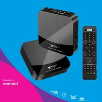 MEELO PLUS XTV Smart Tv Box Android 7,1 Amlogic S905X Set Top Box 5G Wifi Bluetooth Youtube Media Player