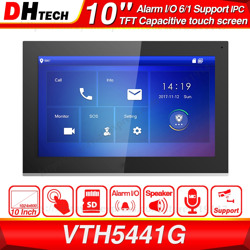 Dahua Original VTH5441G Indoor Monitor 10