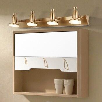 Retro bathroom Vanity Mirror LED Wall Lamp Indoor Wall Lamps Vanity Lights