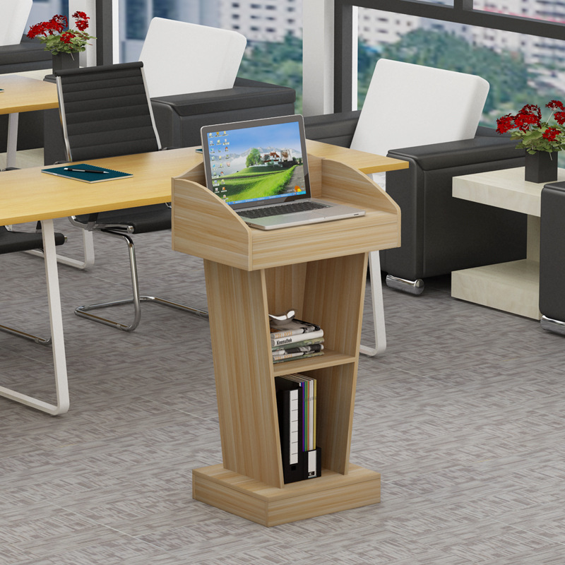 Rostrum Pei Xun Tai Christianity Podium SPEAKER'S Platform Podium Desk Small Host Station