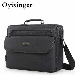 Мужской дизайнерский портфель OYIXINGER, деловой портфель на плечо, через плечо, 2019