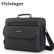 OYIXINGER Briefcase Mens Designer Handbags High Quality Business Men Briefcases Handbag Shoulder Crossbody Bags