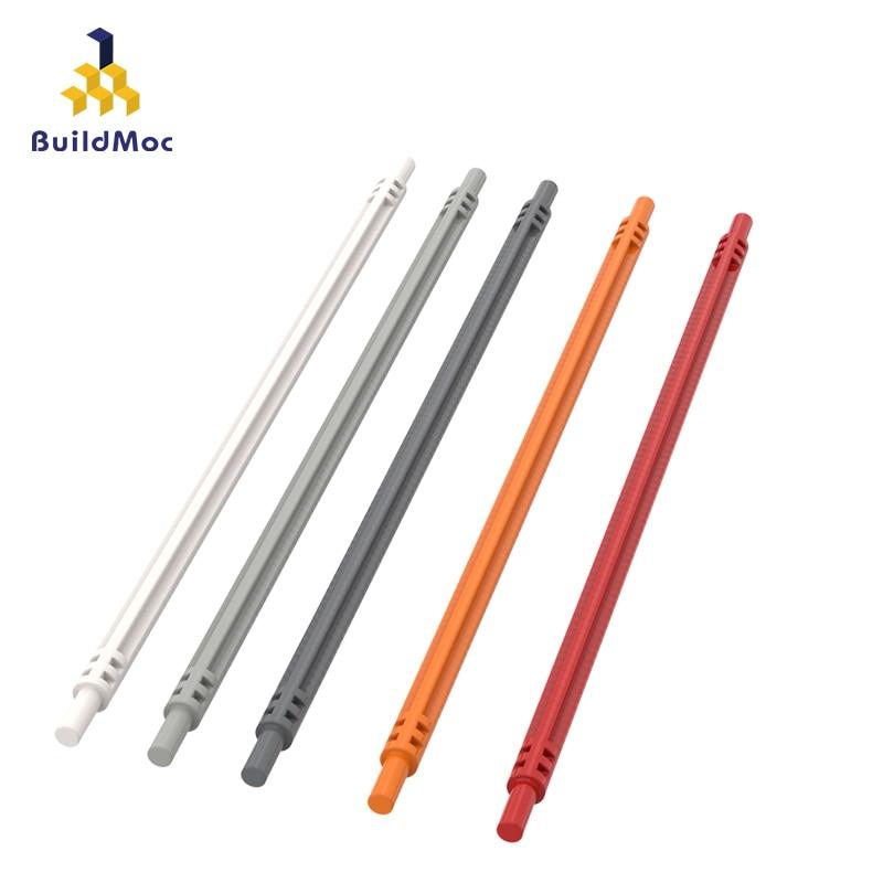 BuildMOC Compatible Assembles Particles 32235 1x19 Soft Cross Shaft  Building Blocks Parts DIY Educational Gift Toys