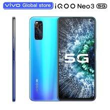 Original vivo iQOO Neo 3 Smartphone 8GB 128GB Snapdragon 865 48,0 MP 44W Dash Lade NFC 144hz Bildschirm Aktualisieren Rate Handy