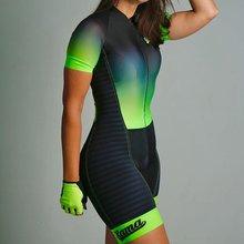 2020 xama Женская велосипедная одежда триатлонный комбинезон