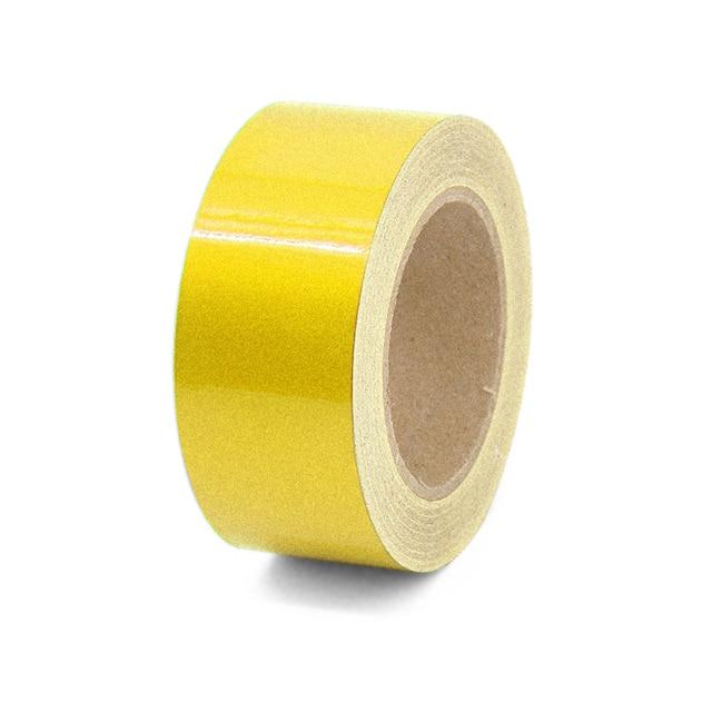 Safety Warning Hi Vis Viz Reflective Stickers Vinyl Self-Adhesive Tape Useful
