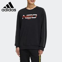 Oryginalny nowy nabytek Adidas NEO M SS NN SWT 1 męskie swetry koszulki odzież sportowa tanie tanio VN (pochodzenie) Pasuje prawda na wymiar weź swój normalny rozmiar Oddychające