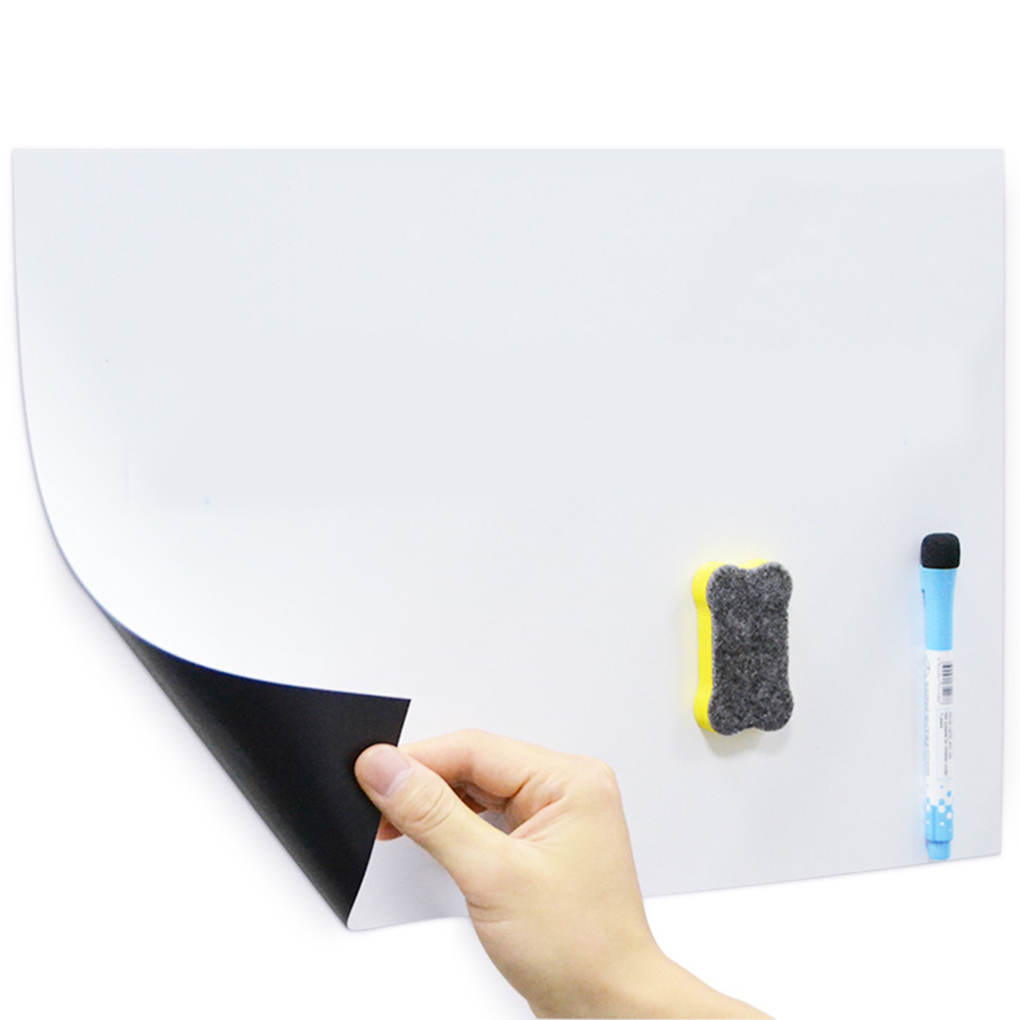 A3 Refrigerator Sticker Student Home Office Message Writing Soft Whiteboard Magnetic Board