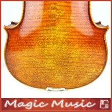 Мастер уровне! Il Cannone Guarnerius мастер скрипка 4/4, мост Обер и 18 лет Европейская ель
