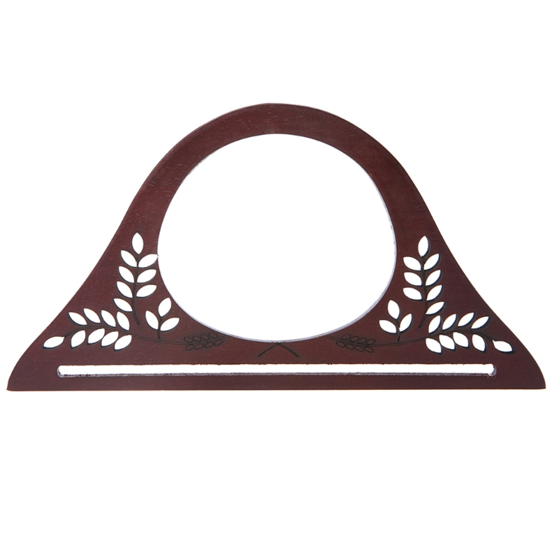 Metal Frame Kiss Clasp For Handle Bag Purse Accessories DIY Square Round Wood 25cm/27cm New Brand THINKTHENDO