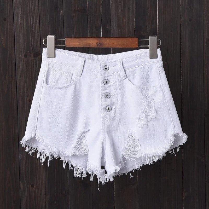 NiceMix 2020 Size Jeans High Waisted Shorts Femme Denim Shorts Summer Sexy Woman Denim Short Pants Mujer S~ XXXL 4XL 5XL 6XL