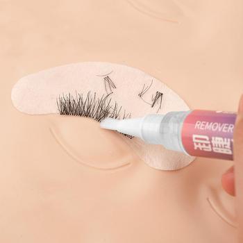 Maquillaje pestañas removedor de extensión Gel injerto descarga pluma líquido Pestañas postizas...