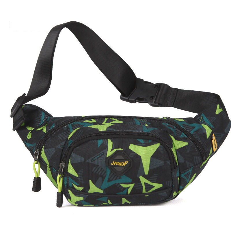 HANDRY Camouflage Yellow/green/Red Wallet Running Outdoor Sports Fitness Small Chest Bag Cash Storage Men And Women Mountain Cli