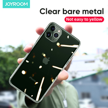Joyroom Transparent Case For iPhone 11 Pro Max Soft TPU Clear Shockproof Back Case Cover Bumper For iPhone 11 Capas Coque