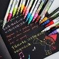 12/18/24/36 цветов, 0,7 мм, акриловые маркеры для рисования, художественные маркеры, ручка для керамических искусств, фарфоровая кружка, дерево, тк...