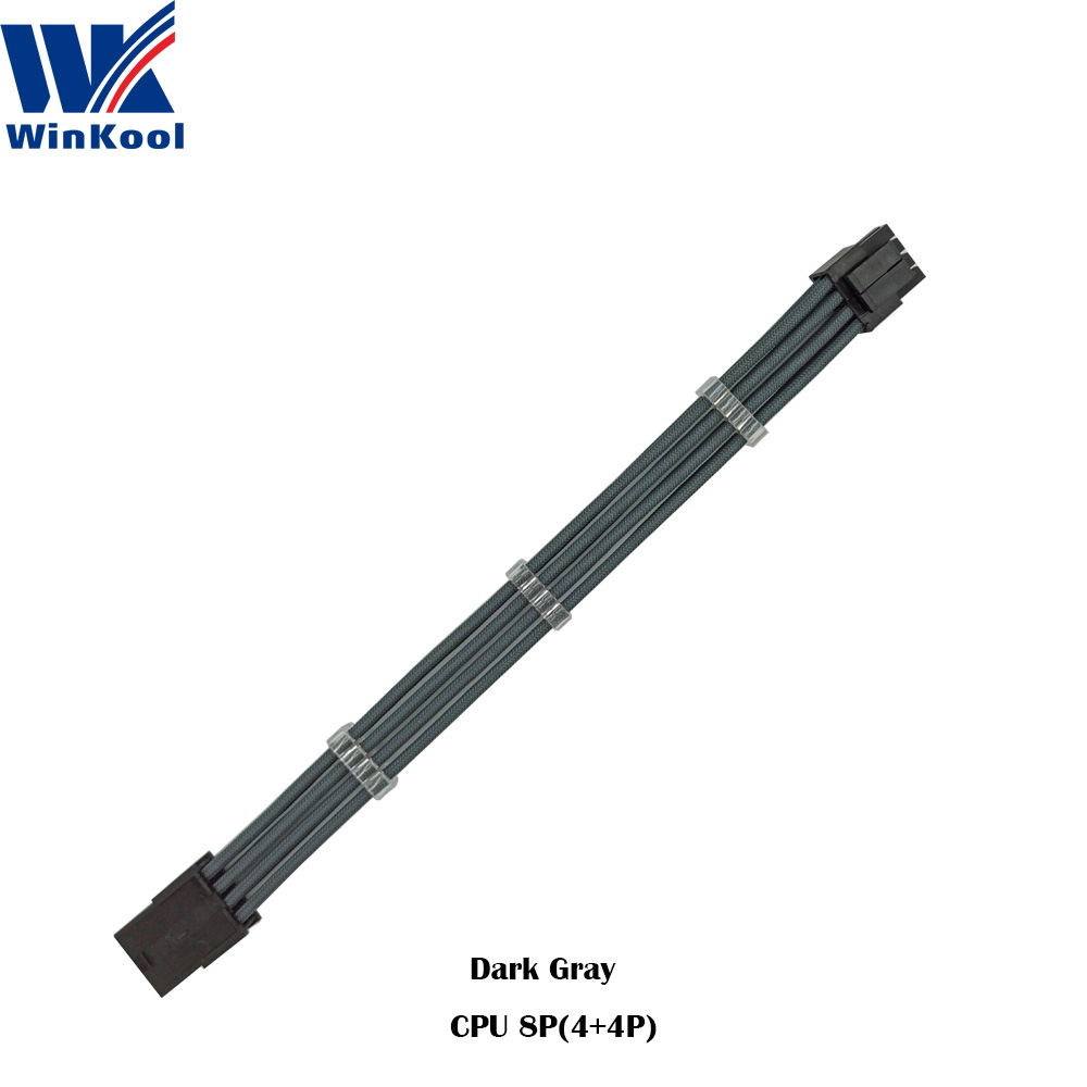 WinKool_Dark_Gray_EPS_CPU_8P_Extension_Cable