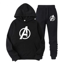 Avengers Endgame Quantum Realm Sweatshirt with hooded Advanced Tech Hoodie Cosplay Costumes 2019 new superhero Iron Man Hoodies(China)