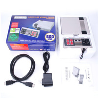 Dropshipping HDMI Output Mini TV Handheld Retro Video Game Console with Classic 600 games Built in for TV PAL & NTSC