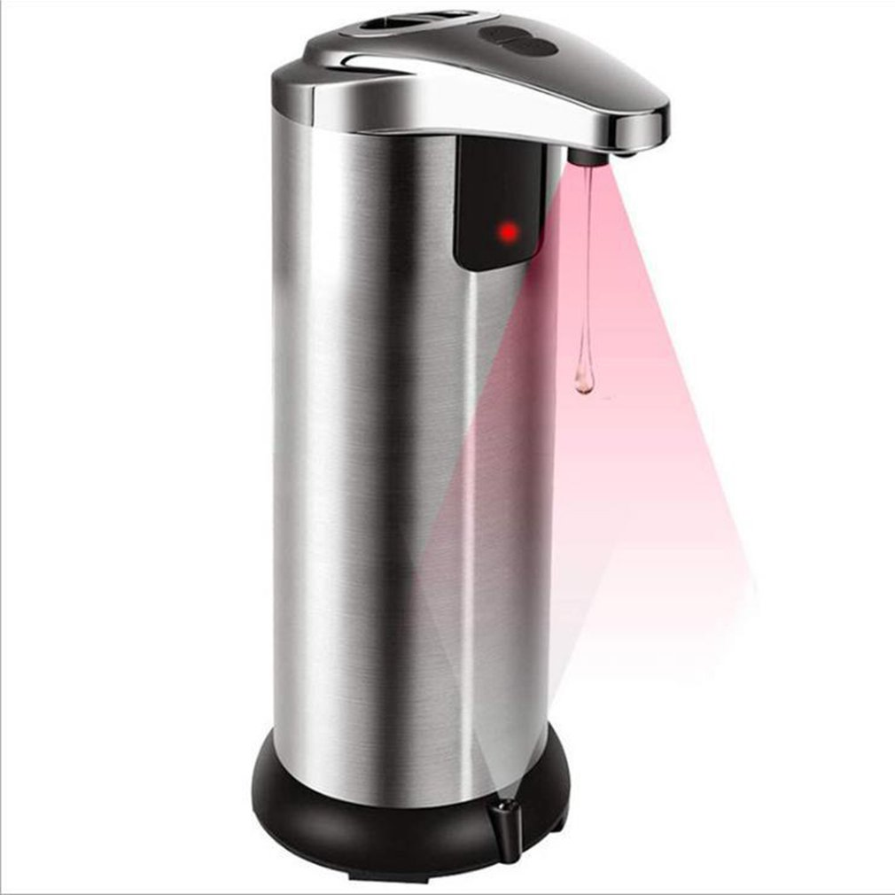 1 pcs Automatic sensor soap dispenser Automatic hand sanitizer Stainless steel Infrared sensor Induction