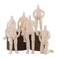 Nowy 13 ruchome przegubowe 15.5cm lalki ciała dla 1/8 BJD lalki dziewczyny plastikowe zabawki Ob11 nagie ciało akcesoria moda prezent