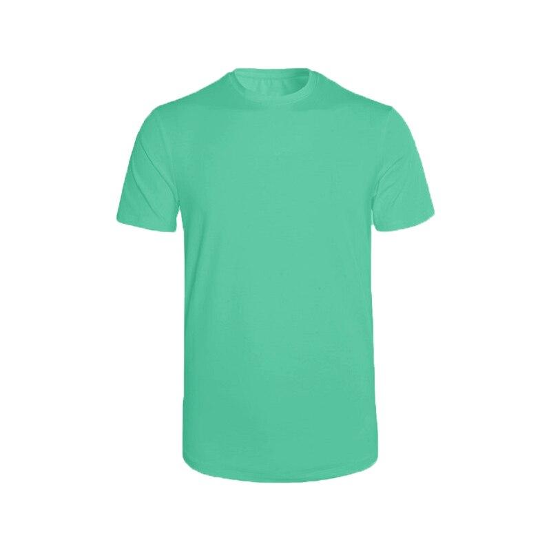 Men's Short Sleeve T-shirt Man O-Neck Solid Tshirt Outdoor Cotton T-shirt Casual 2020 Short Sleeve T Shirt Men Asian Size S-XXXL