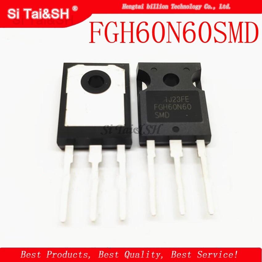 10pcs/lot FGH60N60SMD FGH60N60 600V, 60A Field Stop IGBT TO-3P