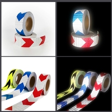 Stickers Tape-Strip Reflective-Film Warning-Light-Reflector Car-Body Mark-Protect Safety