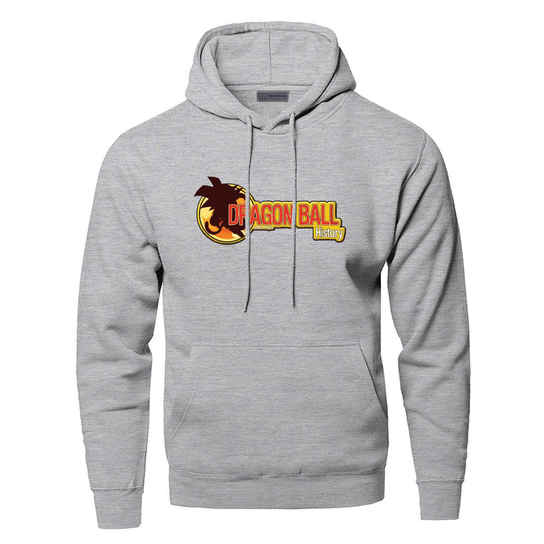 Dragon Ball Z Anime Hoodies SweatshirtsMen Super Torankusu Gohan Vegeta Hooded Sweatshirt Winter Autumn Dragonball Hoody