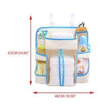 Crib Bedside Storage Hanging Bag Diaper Case Multi-function Kids Infants Stroller Bags Rack for Baby Supplies