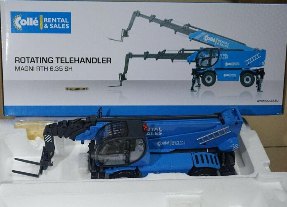 Fork Lift Truck ROS 1//32 Magni RTH 6.35 SH Rotating Telescopic Handler Rare