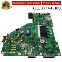 X550LD 노트북 마더 보드 I7-4500 I7-4510U ASUS X550LD X550LC A550L Y581L W518L X550LN X550L 메인 보드 REV 2.0