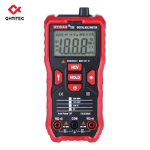 QHTITEC UA168 Multimeter Digital T-RMS Auto Range 1999 Countsn NCV Voltmeter Resistance Tester with LCD Backlight Hand Tools