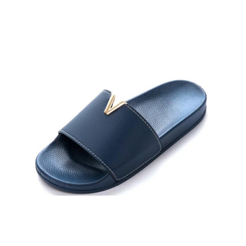 Summer Woman Plus Size Sandals Outdoor Shoes Home Bathroom Non-slip Slippers Flip Flops Beach Shoes Slide Shoes Large Size 49