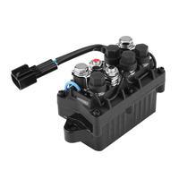 Direct Fit Relay Practical Engine Durable Outboard Trim Easy Install 2 Pins Accessories Replacement For Yamaha 63p 81950 00 00
