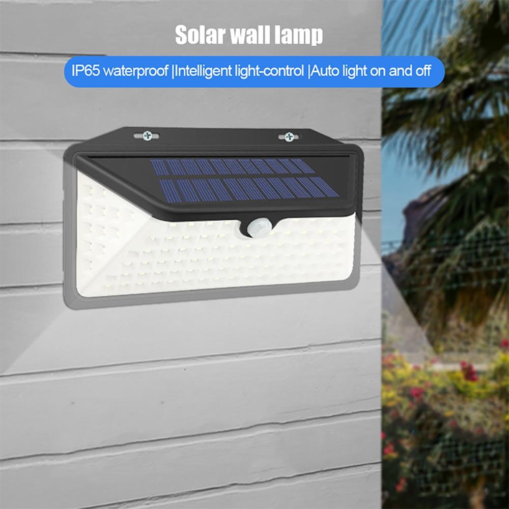 parede solar mpow 3 modos ajustáveis ip65