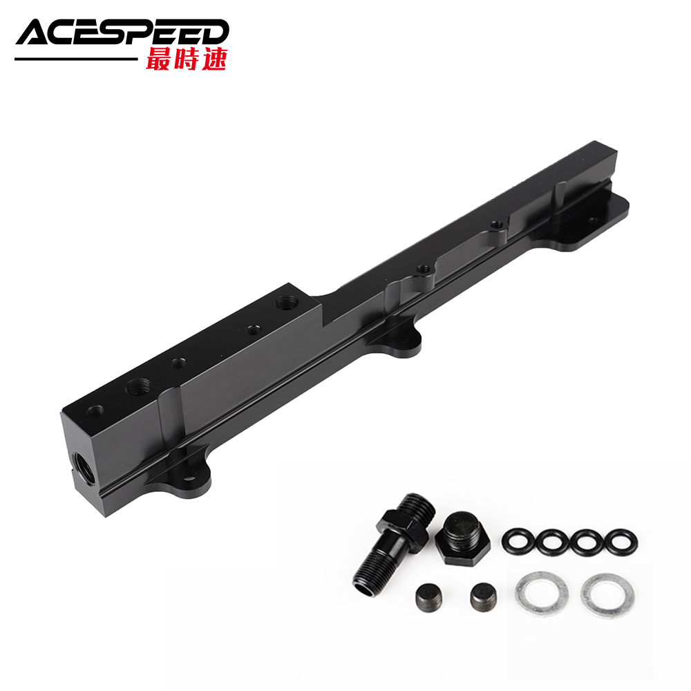 Aluminum Volume Fuel Rail for <font><b>Honda</b></font> <font><b>Civic</b></font> Si B-Series B16A2 & B16A3 image